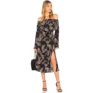 Stone Cold Fox Nicholson Dress in Black Autumn NEW